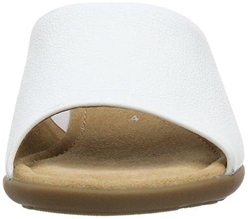 Gabor Strome, Sandali donna Bianco (Bianco (White Leather))
