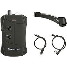 Micnova MQ-VTN con Modo de Disparo de Movimiento modo de disparo Lightning de disparo modo sonido compatible para cámaras DSLR de Nikon D700, D800, D90, D600, D3100, D3200 D4, D3