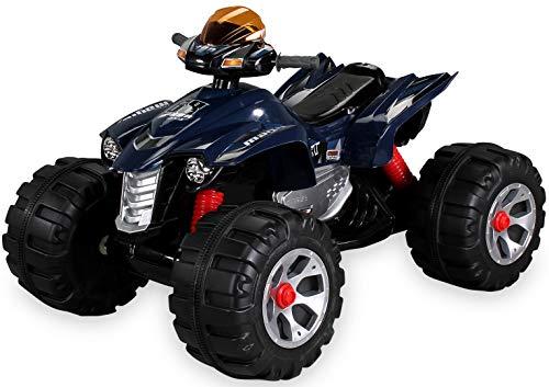 Kinder Elektro Quad BURST 2 x 35 Watt Motor Original Kinder Elektro Auto Kinderauto Kinderfahrzeug (blau)