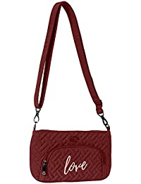 Lug Flyer Mini Cross-body Bag, Cranberry Red Cross Body Bag