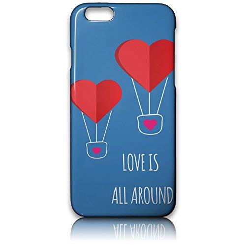 farmygadget Coque Case Étui Impression Complète type Love pour Smartphone Apple 00018g