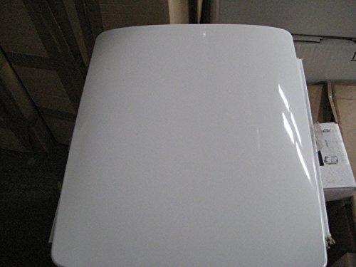 Designer WC Sitz mit soft close Serie Escale weiß