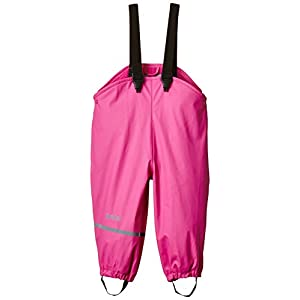 CareTec Pantalones Impermeable con vellón Unisex Niños Rosa (Real pink 546) 104 6