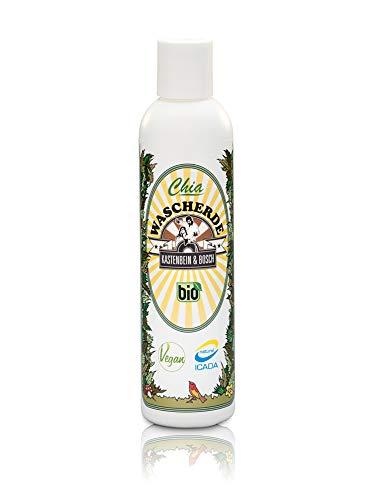 100{52e45603e38b64c13843c71e6fcaafc6c248f5eadf066442d0ab297f928bdb27} natürliche Chia Wascherde - Bio, vegan & ideal für die natürliche Haarwäsche ganz ohne Schaum - Haarpflege Produkte für mehr Kraft, Glanz und Volumen - 200ml von Kastenbein & Bosch
