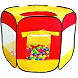 HomeStore Globa, Christmas Kids Gift ¡200 bolas multicolores incluidas! Carpa Pop-Up Ball Pit Play - Interior y exterior