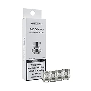 INNOKIN AXIOM M-21 REPLACEMENT COILS - In Hand - Authentic UK Seller - x4 - M21 (0.5 Ohms - 20-35w)