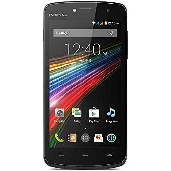 "Energy Sistem Phone Max - Smartphone de 5"" (Bluetooth, OGS IPS HD, Quad Core ARM Cortex A7, Android 4.4, Dual SIM, GPS), color negro"