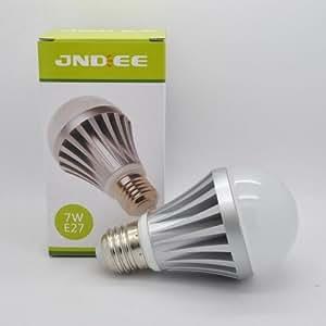 Ampoule LED Samsung à vis - Edison E27 - Blanc chaud - Puissant : 600 lumens - Remplace une ampoule de 60-70W