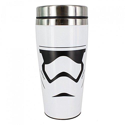 Wars Star Kaffee (Star Wars - Stormtrooper - Thermobecher Füllmenge 450 ml | Offizielles Merchandise)