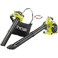 Ryobi 5133002353 RBV26B-Aspirador, soplador, triturador de 26 CC, Negro, Verde
