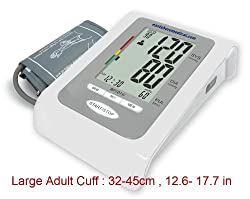 BP101W Arm English Talking Blood Pressure Monitor Large LCD,LARGE ADULT CUFF PC Data Management