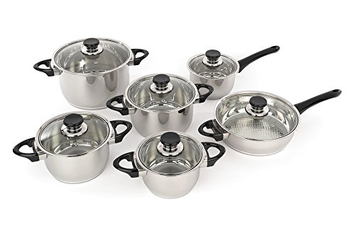 Berghoff Cookware Set 12 Pieces Vision Premium Collection, Studio