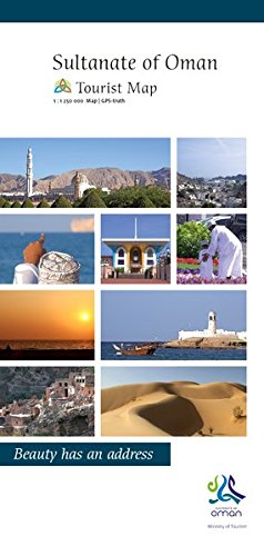 Sultanate of Oman Tourist Map