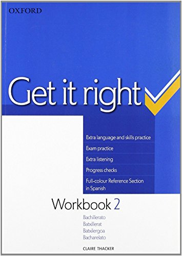 Get it Right 2: Workbook Spanish ED - 9780194746151