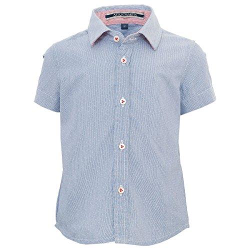 aston-martin-chemise-manches-courtes-bleue-9-mois-bleu-clair