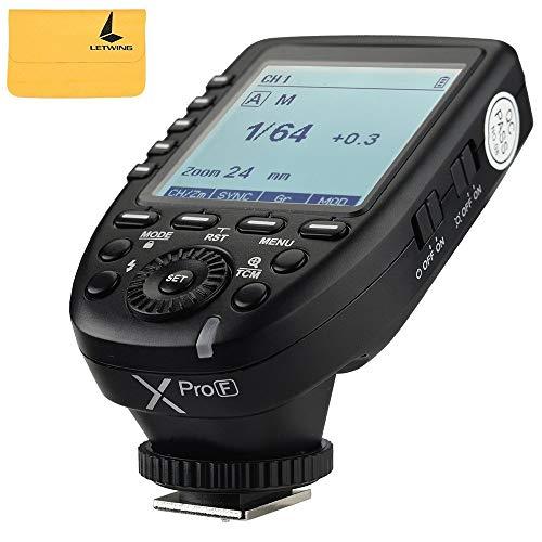 Godox XPro-F 2.4G TTL Wireless High Speed Sync 1/8000s Blitzauslöser Sender X System High-Speed-Trigger für Fuji-Kameras (High-speed-kamera-blitz)