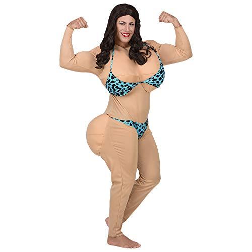 Kostüm Hintern Fake - Widmann - Erwachsenenkostüm Miss Bikini
