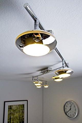 Barre 6 Spots - Barre de spots LED Grosseto, 6 x