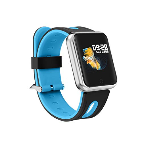 Fitness Armband, Elospy Wasserdicht IP68 Fitness Tracker Fitness Uhr für Damen Herren Kinder Sportuhr mit Schrittzähler Pulsuhr Kalorienzähler 1.3-Zoll Smart Watch Sportuhren für iOS Android Handy