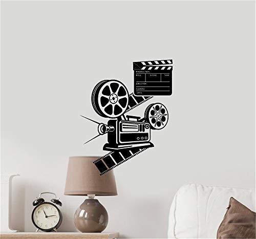 Wandaufkleber Kinderzimmer wandaufkleber 3d Filmkamera Film Hollywood