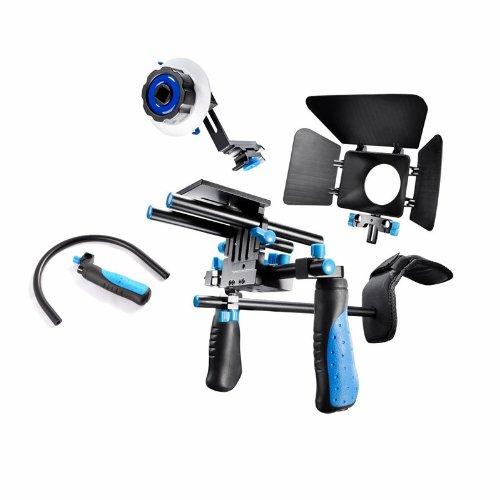 SunSmart-DSLR-di-sostegno-della-spalla-dellimpianto-di-perforazione-con-Pro-segue-il-fuoco-e-Matte-Box-per-le-videocamere-DSLR