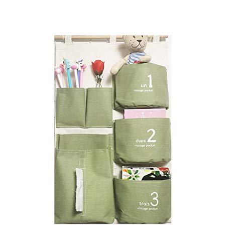 EETYRSD Aufbewahrungstasche-Portable-Space Saver-Toys Lagerung, Tür, Wand, Schrank, Küche, Schlafzimmer, Badezimmer, Büro-56cm (1,84 Fuß) x 35cm (1,15 Fuß) Aufbewahrungstasche - 2 Tür-bettwäsche-schrank