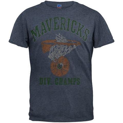 Old Glory NBA Dallas Mavericks - ' 87 Division suave T-Shirt fotografía