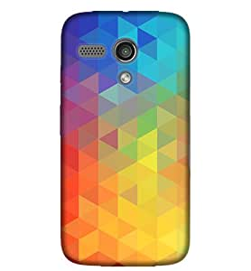 MTG Multi Color Pattern Phone Back CoverPE35