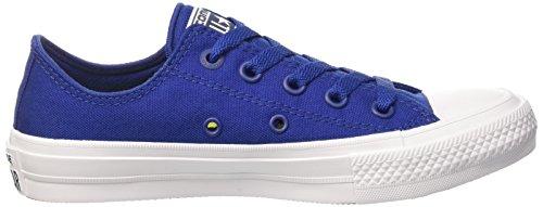 Converse Chuck Taylor All Star Ii Low, Baskets Mixte Adulte Bleu (Blu)