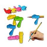 Nicedeal - Lápices de silicona multicolor para niños, estudiantes y adultos, 30 piezas de papelería, suministros de oficina, suministros para manualidades artísticas, herramientas para tejer textiles
