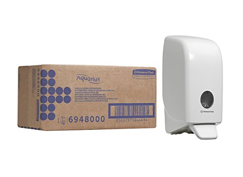 Aquarius 06948000 Hand Cleanser Dispenser - White, 1 L