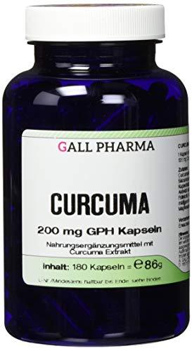 Alpha-liponsäure 200 Mg Kapseln (Gall Pharma Curcuma 200 mg GPH Kapseln, 180 Kapseln)