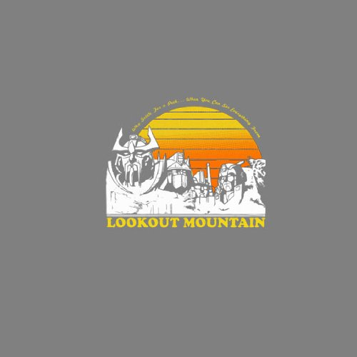 Lookout Mountain - Herren T-Shirt Army