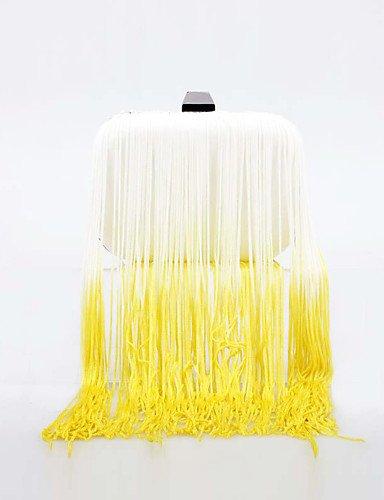 limon-t-l-west-el-gradiente-de-la-mujer-borla-bolso-de-coctel-amarillo