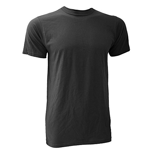 Anvil Herren T-Shirt Organik Fashion Tee Rauch