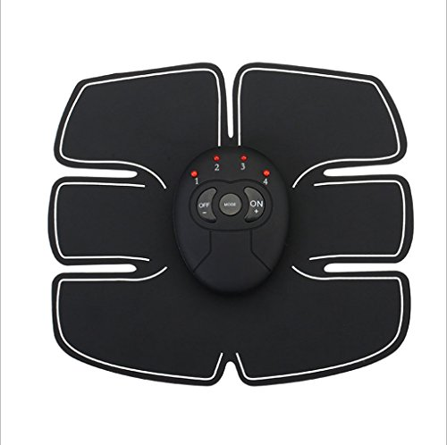 G-K Sports & Outdoors/Fitness/Massage Belts & Electric Stimulators Muscle Stimulator, EMS Muscle Toner for Home Fitness and Gym Workout, Body Fitness Training Slimming Machine Abdominal Toning Belt for Men & Women