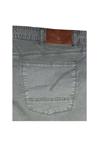 "Greyes Herren Jeans Stretch 35"" Grau"