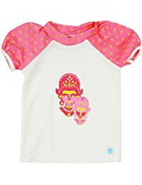 Splash About Girls' Designer Rash Tops-Kayla La, X-Large/5-6 Years