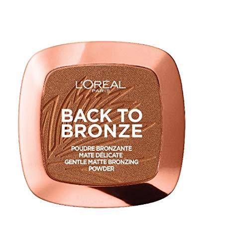 L\'Oréal Paris Back to Bronze Gentle Matte Bronzing Powder, Bronzer mit mattem Finish, für einen natürlich gebräunten Look