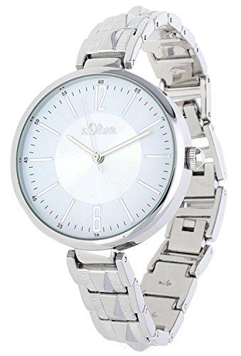 s. Oliver–Reloj de pulsera analógico para mujer cuarzo So de 15121de MQR