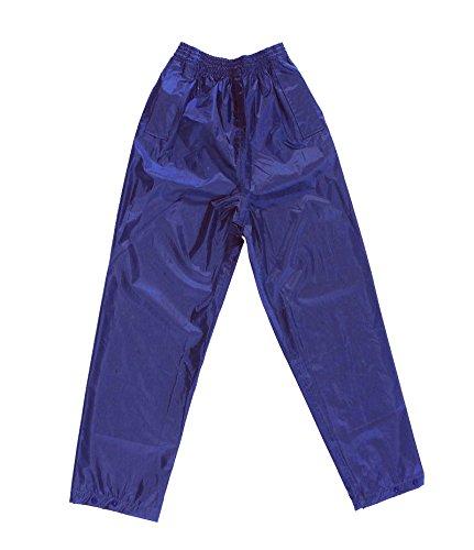 Tornado Marineblau Wasserfeste Hose - Erwachsene und Kinder größen - Marineblau, XXL