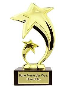 stern award avec gravure coupe troph e cadeau pour no l la f te des m res anniversaire. Black Bedroom Furniture Sets. Home Design Ideas