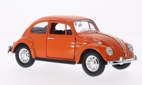 VW Coccinelle, Orange, 1967, Voiture, modèle terminé, Lucky Die Cast 1 : 24