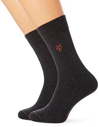 Marc O\'Polo Body & Beach Herren Legwear 2-Pack Socken, Rot (Hellrot 501), 43/46 (Herstellergröße: 406) (2erPack)