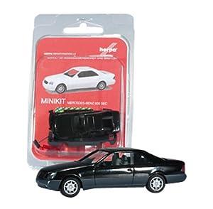 Herpa 012676-002-Minikit Mercedes-Benz 600Sec, Modelo en Miniatura