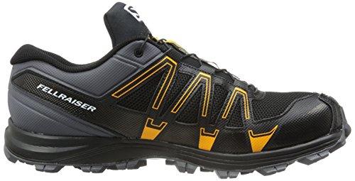 Salomon Fellraiser, Chaussures de Running Compétition Homme Multicolore (Dark Cloud/Black/Yellow Gold)