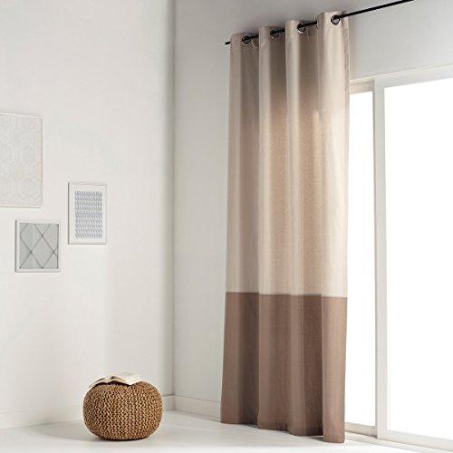 La redoute interieurs tenda bicolore puro cotone aguri 180 x 140 cm