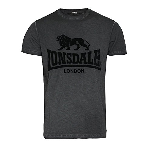 "Lonsdale ""Hartley"" T-Shirt (anthracite) Grau"