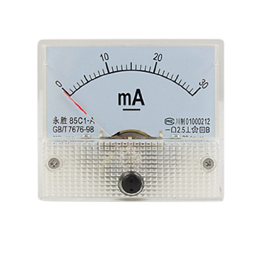DC 0-30mA Analog Current Panel Meter Amperemeter 85C1-A -