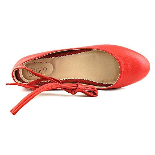 Franco Sarto L-Becca Cuir Ballerines red
